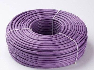 兼容西门子DP总线电缆Profibus-DP通讯线紫色DP线6XV1830-0EH10