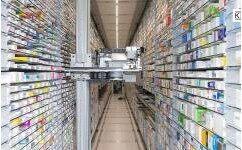 自动化药房高存储密度存取