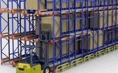 穿梭车视频,穿梭板视频,RGV视频,货架密集仓储视频