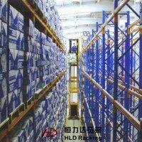窄巷式货架-vna货架-窄通道货架-广州恒力达