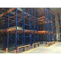 冷库穿梭车立体仓库适用于冷链自动化仓储 实现智能仓库管理