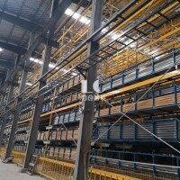 铝型材行业自动化立体仓库 智能物流仓储系统
