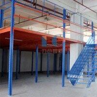 钢结构平台仓库厂房库房钢制重型可拆装多层货架平台