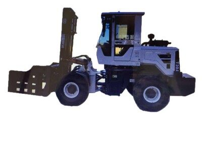 小型装载机式叉车四轮驱动液压叉车