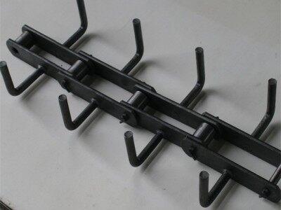 链条式刮板FU200拉链机链条板输送机