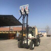 三吨柴油叉车 建筑工地装卸货物专用叉车 灵活托盘 安全稳定运输车