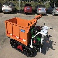 万轮 柴油履带运输车 小型履带搬运车 升降打药多功能运输车