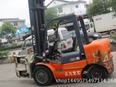转让电动杭州1.5吨2吨3吨蓄电池叉车