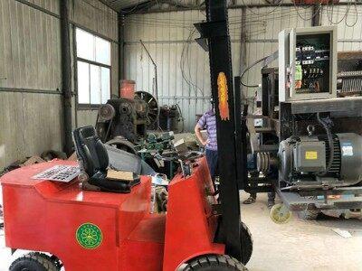 守质机械 1吨电动叉车 电瓶叉车 厂