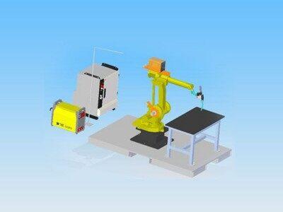 时代焊机 弧焊工作站可根据实际要求