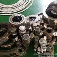 【304带内环金属缠绕垫 带外环金属缠绕垫片】规格 厂家