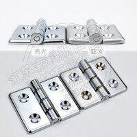 索科斯CL6070工业铰链锌合金表面镀铬合页60*70加宽型自动化设备铰链