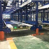 品良HJ-003立体仓库自动存取货子母穿梭车 穿梭货架厂家供应