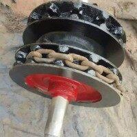 厂家专业生产制作销售  铸造圆环链链轮 优质锻造链轮  量大优惠