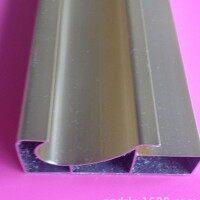 新款晶钢橱柜门铝材 晶钢门铝材加工专业生产定做铝型材