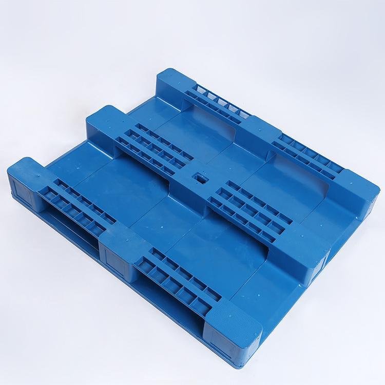 平板焊接川字塑料托盘 焊接塑料垫仓板 1210双面网格型塑料托盘 鲁荣